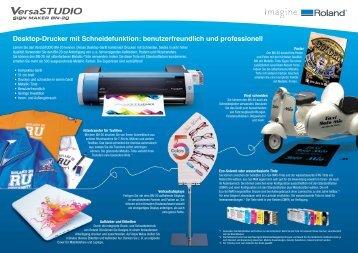 Desktop-Drucker mit Schneidefunktion: benutzerfreundlich und ...