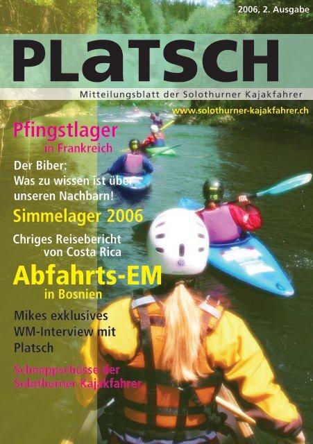 platsch 2/2006 - Solothurner Kajakfahrer