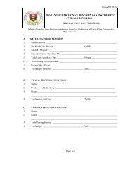 Borang Makmal SST/07 - SST - Sekolah Sains & Teknologi
