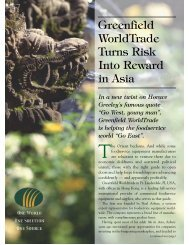 Global Foodservice April 2002 - Greenfield World Trade