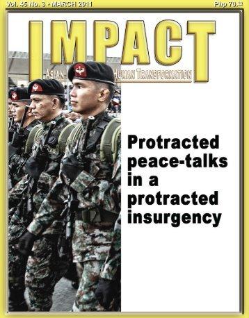 Php 70.00 Vol. 45 No. 3 • MARCH 2011 - IMPACT Magazine Online!