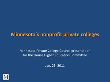 Colleges with Nonprofit majors?