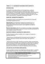 El diagnóstico microbiológico indirecto I. - micromadrid