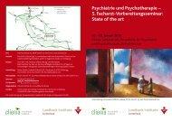 Psychiatrie und Psychotherapie – 5. Facharzt ... - Murg Stiftung