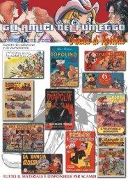 OFFERTE PER I SOCI n. 4 - Cronaca di Topolinia