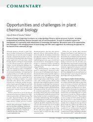Opportunities and challenges in plant chemical biology