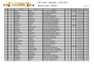 GF Colline - Monopoli 30-05-2010 Medio Fondo (90 ... - Tempogara.iT