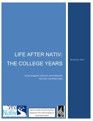 life after nativ-the college years