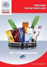 Produktflyer - Weide Displays GmbH
