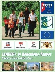 Download (10 MB) - Nachhaltige Entwicklung in Hohenlohe-Tauber