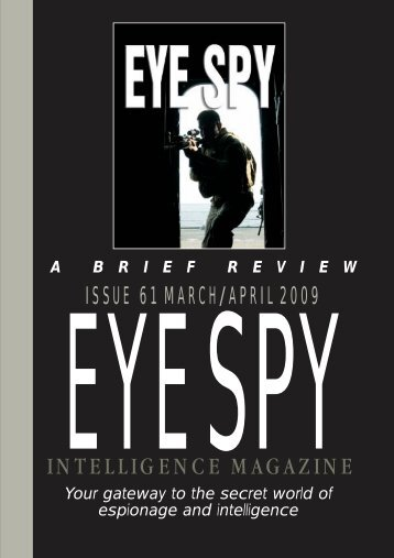 download pdf - Eye Spy Intelligence Magazine