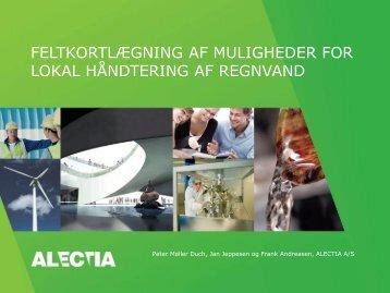 Peter Moeller Duch, ALECTIA - ATV - Jord og Grundvand