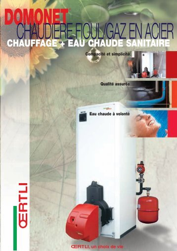 CHAUFFAGE + EAU CHAUDE SANITAIRE - Oertli