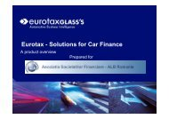 Eurotax - Solutions for Car Finance - ALB