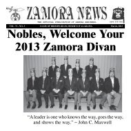 March 2013 - Zamora Temple
