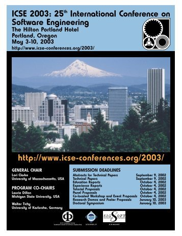 Full Size Poster (PDF) - International Conference on Software ...