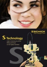made in Germany by Schick. Milling technique - Georg Schick ...