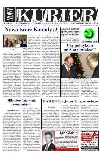 (June) 2008r. No 11 (953) - Nowy Kurier