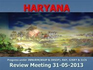 Presentation by Haryana State - Ministry of Housing & Urban ...