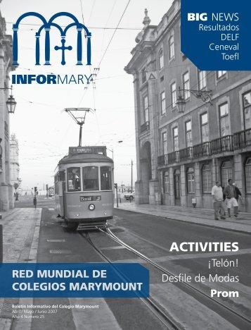 ACTIVITIES - Marymount