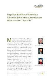 Negative Effects of Extrinsic Rewards on Intrinsic Motivation: More ...