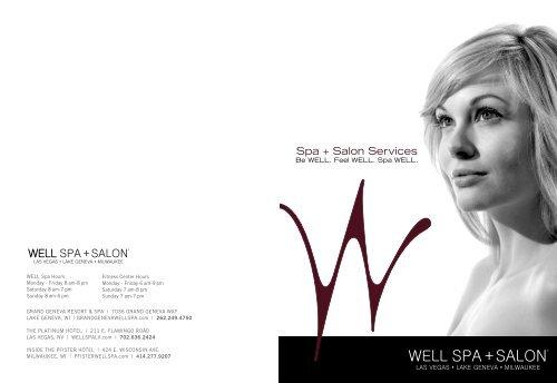 Spa + Salon Services - Grand Geneva Resort