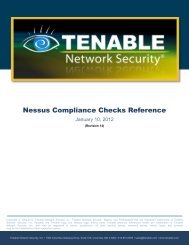Nessus Compliance Checks Reference - SCADAhacker