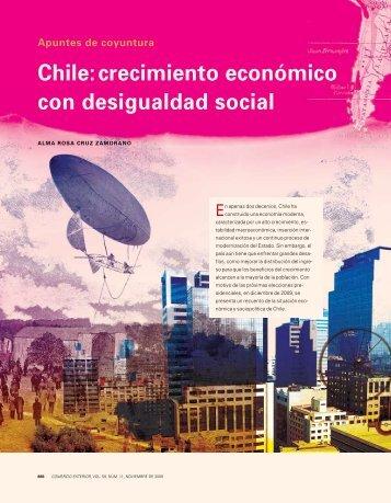 Chile: crecimiento económico con desigualdad social - revista de ...