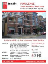 225 Menzies Street, Victoria BC - DTZ