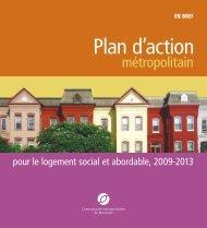 Plan d'action métropolitain pour le logement social et abordable ...