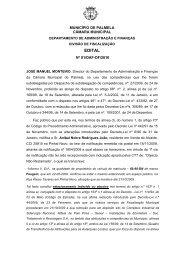 Edital 01/DAF-DF/2010, de 11/01, da Câmara Municipal (Notificação ...
