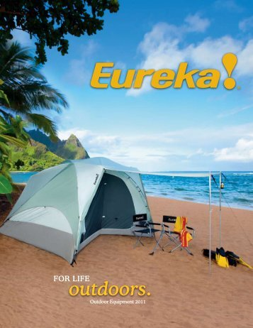 outdoors. - Eureka! Tents