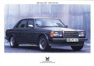 Mercedes 200 - 280 E (W 123)