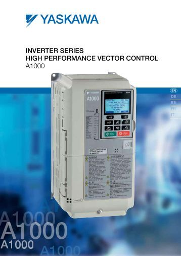 Inverter Series A1000 - BERRIOLA S. Coop.