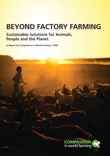 Beyond Factory Farming: report - Compassion in World Farming