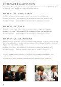 Entrance examination, scholarship and bursary information - Page 4