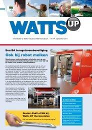 Ook bij robot melken - Watts waterbeveiliging