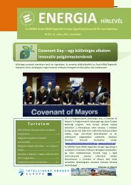 Energia Hírlevél 2011 - november - enerea