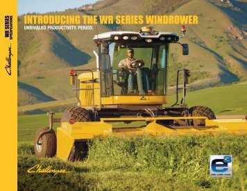 WR Series Windrowers - Challenger