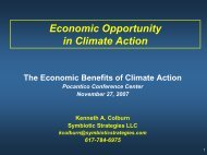 Economic Opportunity in Climate Action - Global Urban Development