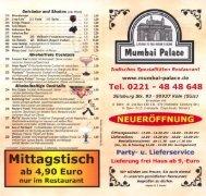 Getränke und Shakes (inkl. Pfand) - Leben in Sülz
