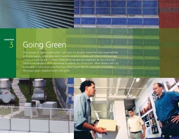 Chapter 3: Going Green - Battery Park City Authority