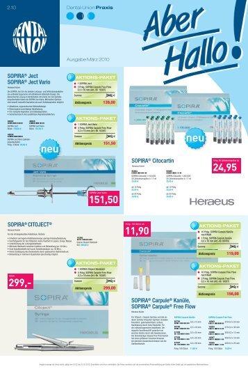 aktions-paket - van der Ven Dental Gmbh & Co. KG