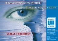 PREISLISTE - Wittich Verlage KG