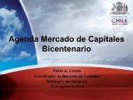 Agenda Mercado de Capitales Bicentenario - Amcham Chile