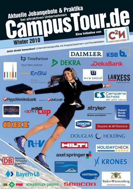 Aktuelle Jobangebote & Praktika - CampusTour.de