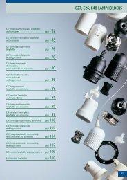 E27, E26, E40 LAMPHOLDERS - Spotled