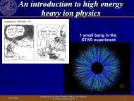 Results from the ALICE test TPC - Particle Physics, Lund University