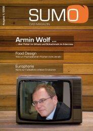 Armin Wolf ... - SUMO