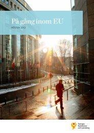 På gång inom EU. Hösten 2012 - Sveriges Kommuner och Landsting